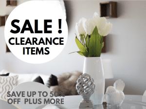 Sale! Clearance Items